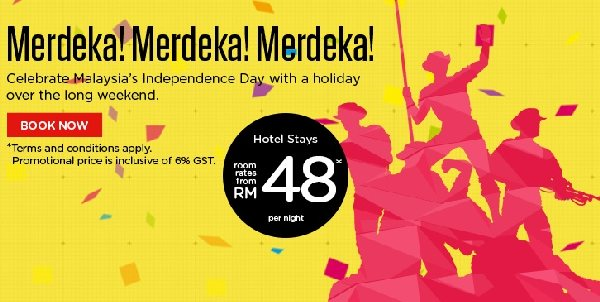 tune hotels merdeka promotion 2015 - Yellow Hotel 2015